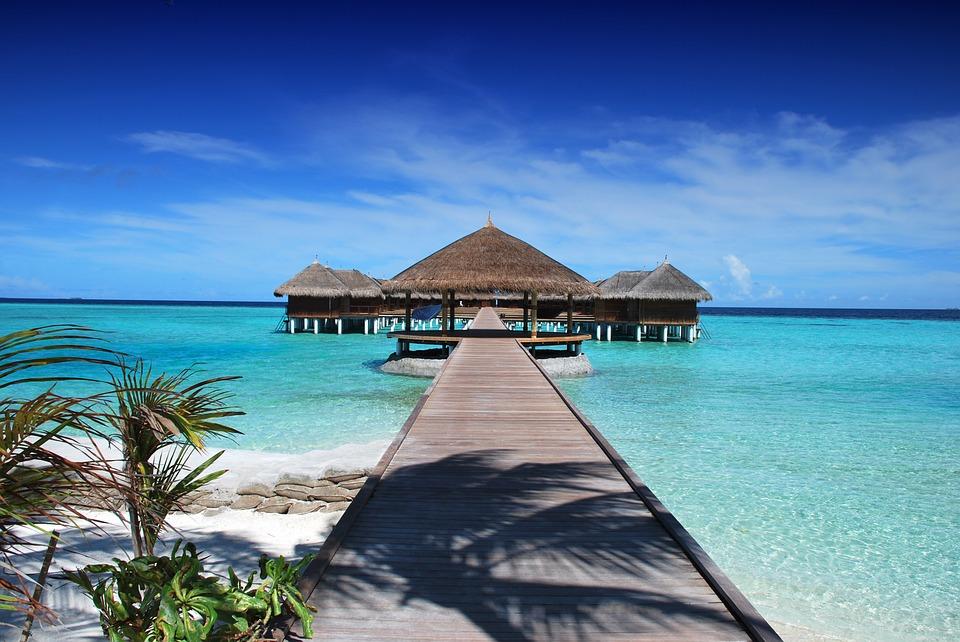 destinos para ir de luna de miel maldivas