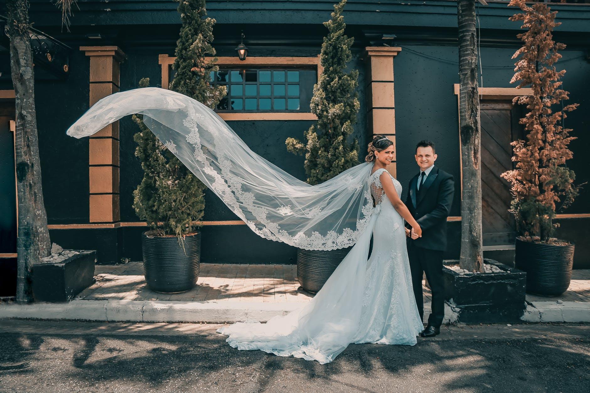 Vestidos de novia que no son blancos 2