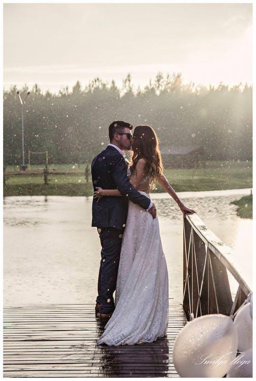 qué hacer si llueve el día de tu boda
