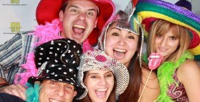 Descubre porque las fiestas con fotomatones son más divertidas