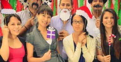 Busca un fotomatón y celebras las fiestas navideñas