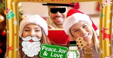 Eventos con fotomatón para disfrutar la Navidad