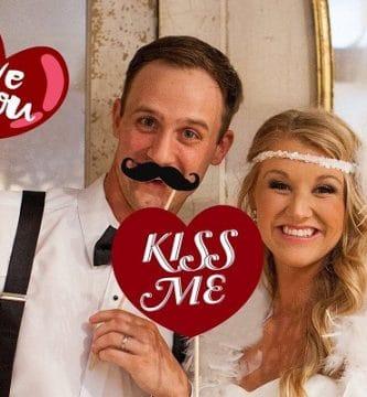 San Valentín: fotomatón para fiestas el día del amor